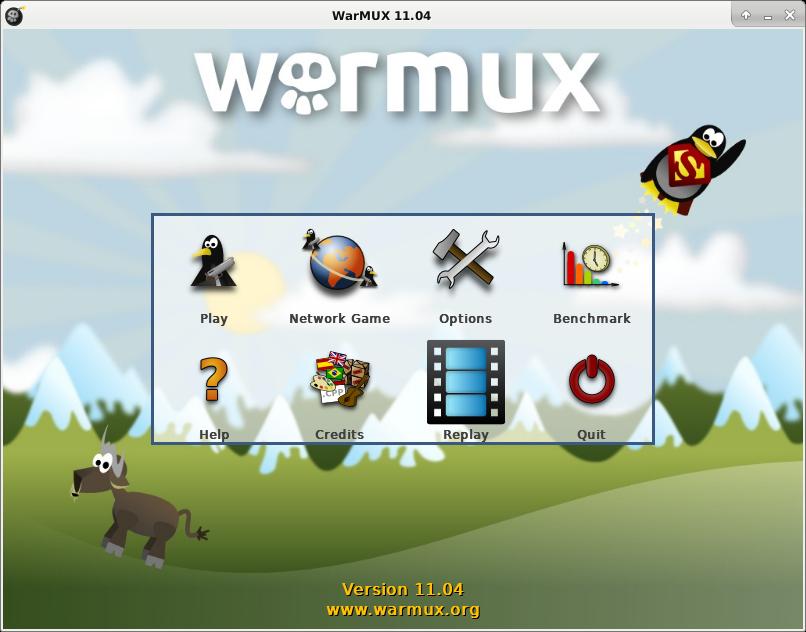 Warmux Screenshot